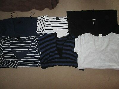 8 Lovely Size 12-14 Maternity/nursing Tops See Pics!!