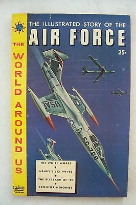 Gilberton The World Around Us #13 (Illustrated Story Of The Air Force)  F/vf+