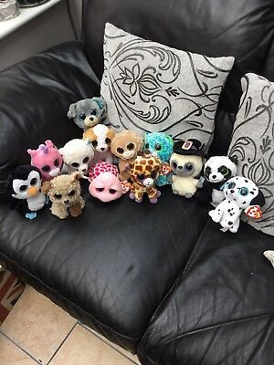 Job Lot Of Ty Beanie Toys