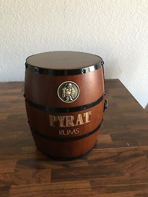 Pyrat Rum Wooden display - 6 inch X 8 1/2 inches -Bottle not included