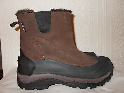 Men's size 10 brown Mammoth snow boots from Mountain Warehouse