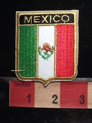 Country Of MEXICO Jacket Patch Emblem ~ Flag Theme 72UU