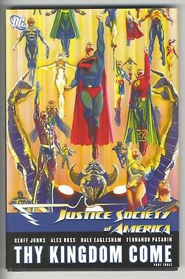 Justice Society of America JSA -Thy Kingdom Come Hardcover Geoff Johns