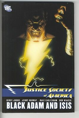 Justice Society of America JSA - Black Adam and Isis Hardcover Geoff Johns