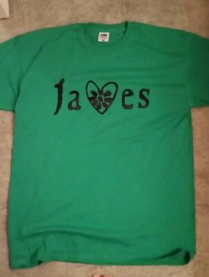 james the band tim booth t shirt
