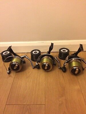 3 x TFG 1200 Front Runner Carp Reels Used only twice
