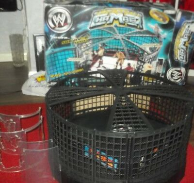 Boxed WWE Figures World Wrestling entertainment Elimination Chamber Cage ring