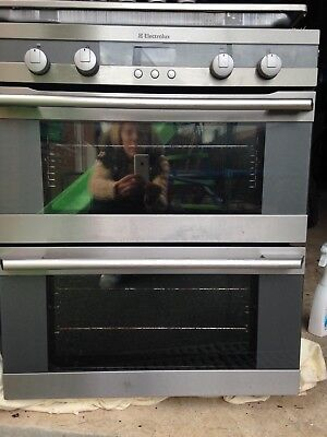 Built in double oven Electrolux