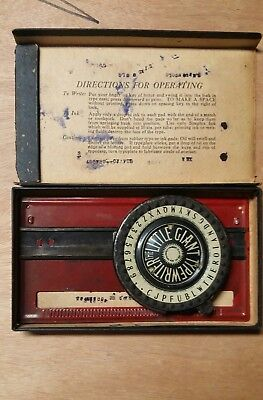 The Little Giant Practical Typewriter Simplex Co, Parts/Repair 1902