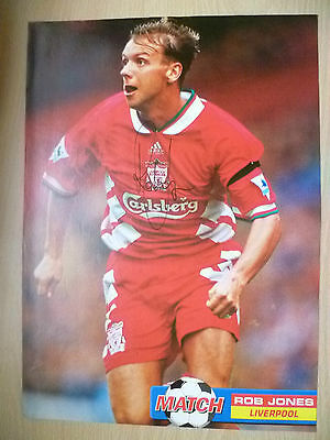 Original Hand Signed Press Cutting- ROB JONES, Liverpool FC (apx A4 )