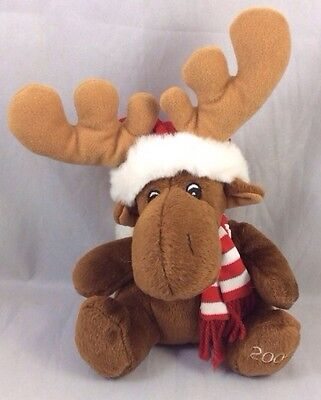 Moose 2005 Dated Sears Krismoose Winter Christmas Charity Pet Plush Holiday Toy