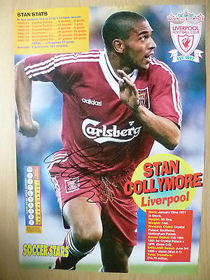 Original Hand Signed Mag Pictures- STAN COLLYMORE at Liverpool FC(apx11.5x8.2in