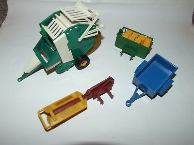 Britains Farm tractor implements