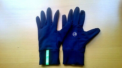 New Running/Jogging/Cross Country Breathable Lined Gloves/Mitts Size: S