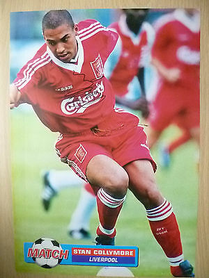 Original Hand Signed Press Cutting- STAN COLLYMORE, Liverpool FC (apx.. A4 ).