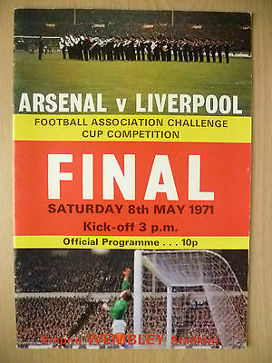 1971 FA CUP FINAL- ARSENAL v LIVERPOOL