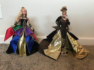 Couture Portrait In Taffeta Barbie Doll Collection 15528 1997 Midnight princess
