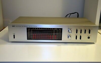 Vintage Bsr Sx-100 Real Time Frequency Spectrum Analyzer