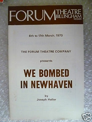 heller s we bombed in new haven In 1967, heller wrote a play called we bombed in new haven he completed the play in only six weeks heller's follow-up novel, something happened.