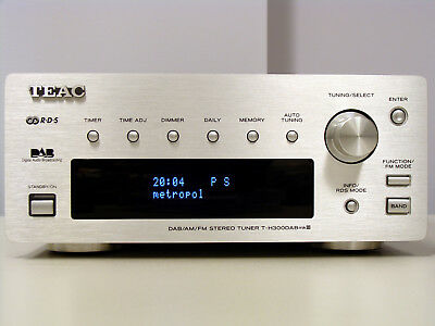 Teac T-H300DABmkIII AM/FM/DAB Stereo Tuner - RDS - Timer - UKW, MW - Top Sound