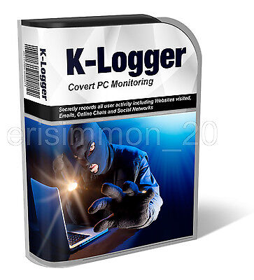 Covert Key Logger record to email log spy catch cheater child safety online app
