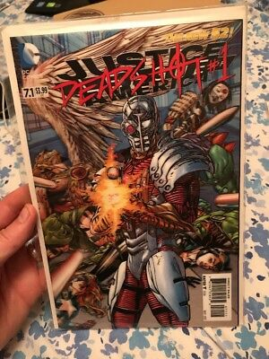 New 52 Justice League Of America #7.1 Deadshot Cover 3D Lenticular Cover