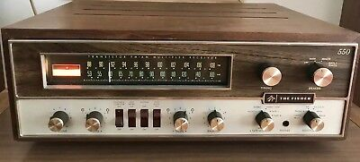 Vintage The Fisher 550T Multiplex Receiver (Rare) Good Working Condition