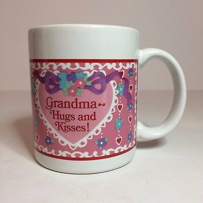 Avon Ceramic With Love Coffee Mug - Grandma - Gift Collection - NIB