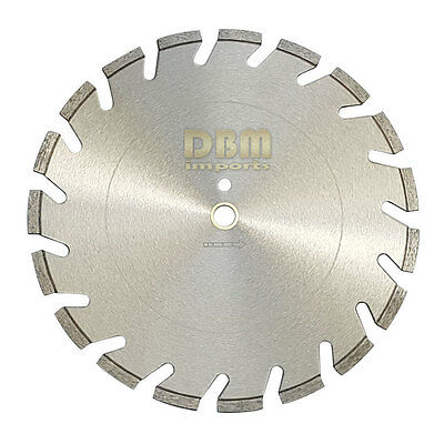 "20"" Segmented Diamond Masonry Blade Premium Diamond Bond for Speed Performance"