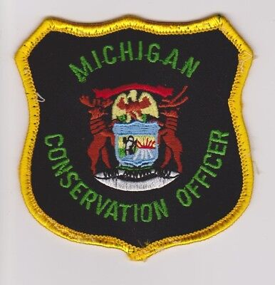 Michigan DNR Natural Resources Conservation Officer Game Warden Police Patch