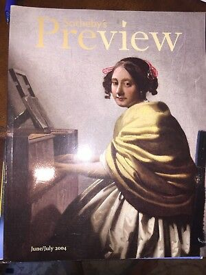 Sotheby's Preview Magazine June/July 2004 Johannes Vermeer