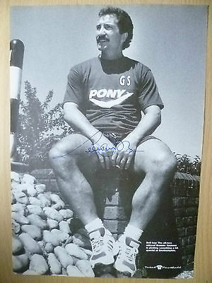 Original Signed Press Cutting- GRAEME SOUNESS at Liverpool FC (apx. A4 )