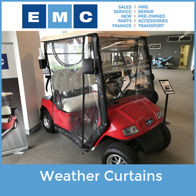 Golf Cart Weather Curtains
