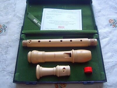 Superb Moeck Rottenburgh 239  Alto / Treble  Recorder, Curved Windway Baroque