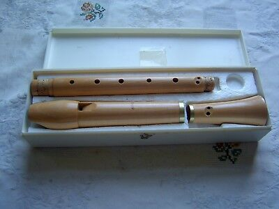 Near Mint Moeck TUJU Alto / Treble Recorder, 236, Baroque