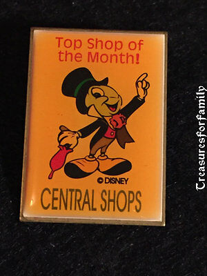 Disney Pin Central Shops Top Shop of the Month Jiminy Cricket FREE SHIP