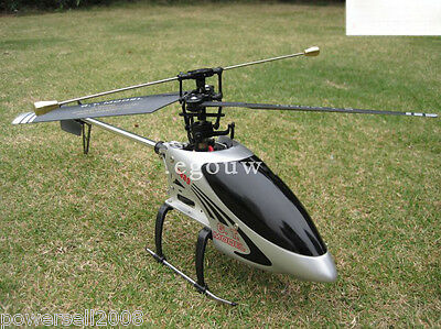 New Silver Length 56CM Remote Control Plane Helicopter Model Gift Children Toys