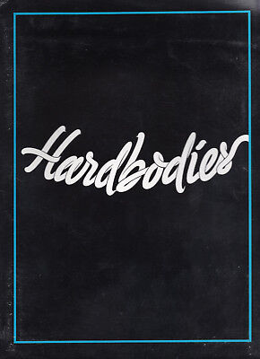 "1984 ""Hardbodies"" Original Press Kit Movie Folder 7 Photos 19 Page Cast/Credits"