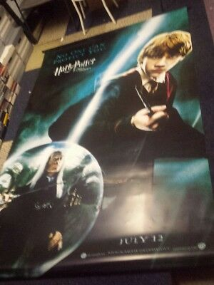 """Harry Potter Banner, Poster, Wall Hanging Cinema 95"""" x 60"""" Order of the Phoenix"""