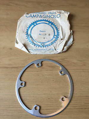 NOS Campagnolo Nuovo Record Era Cyclocross Outer Ring/Chainguard 144bcd