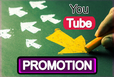 Promote your youtube 1k,views video