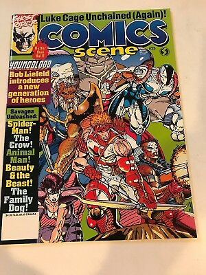 COMICS SCENE Magazine #25 VF/NM Rob Liefeld Youngblood 1992
