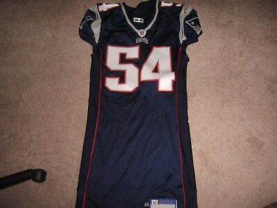 2006 Teddy Bruschi New England Patriots Team Issued Road Jersey