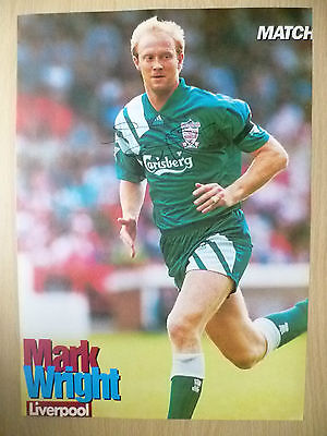 Original Signed Press Cutting- MARK WRIGHT at Liverpool FC(11.5x8.2inch