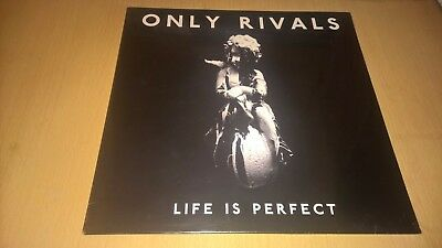 ONLY RIVALS - Life Is Perfect - LP 1st PRESSING 2015 IRISH INDIE ROCK IRELAND