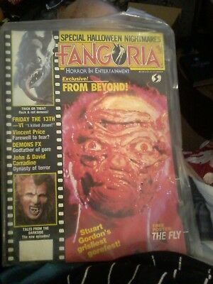 Fangoria Magazine issue 59 December 1986 The Fly From Beyond
