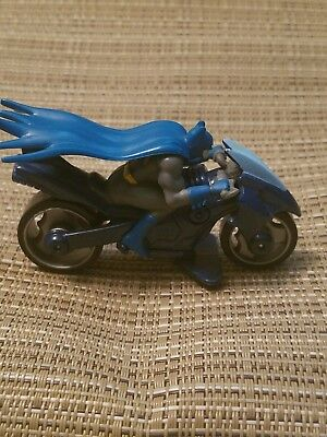 2010 Hot Wheels Speed Cycles Dc Batman Bat Cycle VERY RARE***