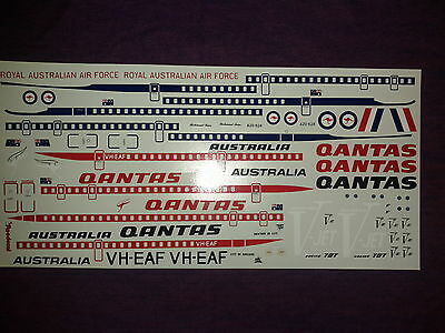 Roodecal 1/72nd Scale Boeing 707 Decal Sheet