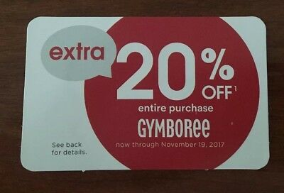picture about Gymboree Printable Coupon referred to as Gymboree 20 coupon 2018 : Pizza offers 94513