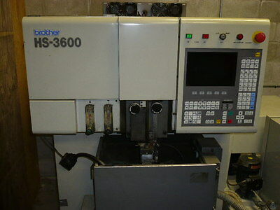 Brother HS3600 wire edm, 4-axis, submerged, Under power
